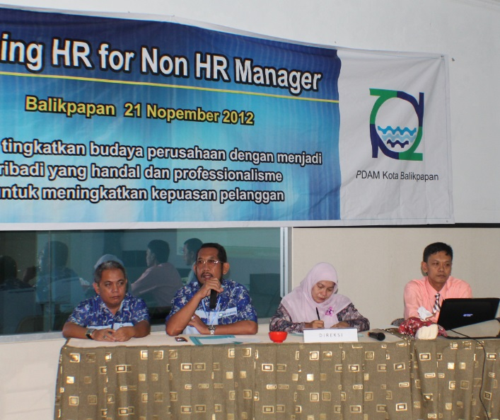 Gallery PDAM Balikpapan Training 5S & HR for Non HR Manager