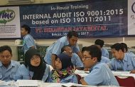 Training Internal Audit ISO 9001:2015 based on ISO 19011:2011 di PT. Sebastian Jaya Metal