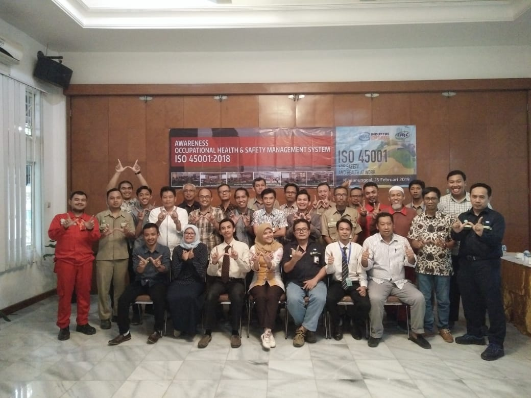 In-House Training ISO 45001:2018 di PT. Wijaya Karya Industri Energi